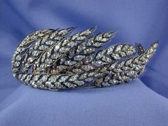 Wheat tiara by Chaumet