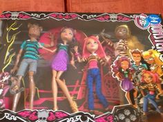 IN HAND Monster High A Pack Of Trouble  Clawdeen  Howleen  Clawd & Clawdia Wolf #DollswithClothingAccessories