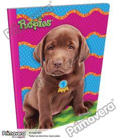 Cuaderno Cosido Infantil Puppies  http://escolar.papelesprimavera.com/product/cuaderno-cosido-infantil-nina-primavera-3/