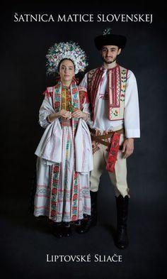 Kostýmy a kroje – Matica slovenská Folk Clothing, Heart Of Europe, Folk Costume, Eastern Europe, Cool Costumes, Traditional Dresses, Costume Design, Harajuku, Captain Hat