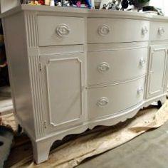 How to refinish/repurpose old furniture