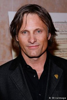 "VIGGO MORTENSEN (b. 1958), Danish-American actor: Born in NY to a Danish father & American mother (who met in Norway).When he was very young, the family moved to Venezuela, then Denmark, then Argentina. He went to Argentine boarding school from ages 7-11, then moved to the U.S. w/ his mother after his parents divorced. He speaks fluent English, Danish & Spanish, plus some Norwegian, French, Swedish, & Italian. His most famous film role was Aragorn in the ""Lord of the Rings"" trilogy. [HLT]"
