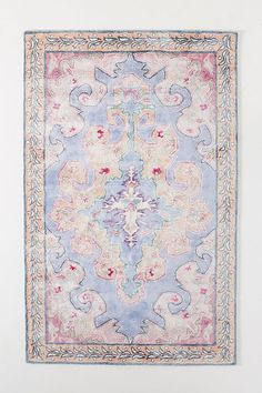 Tufted Eleanor Viscose Rug by Anthropologie in Purple, Rugs Carpet Decor, Wall Carpet, Rugs On Carpet, Carpets, Stair Carpet, Carpet Ideas, Area Rug Placement, Swatch, Hanging Furniture