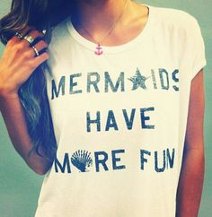 Mermaids do exist!  Come and See!