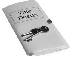 EXAMINATION OF TITLE DEEDS Examining the title deeds of the included property is that the principal and compulsory activity