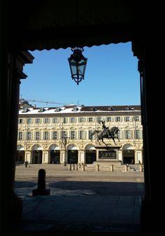 Square in Torino  by  luigi  rabellino