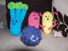 Ravelry: Project Gallery for patterns from Manchester Science Festival Handouts