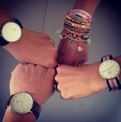 The more the merrier. Get yours at www.danielwellington.com #danielwellington #wotd