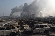 The tragic explosion in Tianjin, China has caused untold amounts of devastation and anguish, and the car industry is not immune. Apocalypse Aesthetic, Post Apocalypse, Apocalypse Survival, Tianjin, The Walking Dead, Haunting Photos, Ju Jitsu, Between Two Worlds, End Of Days