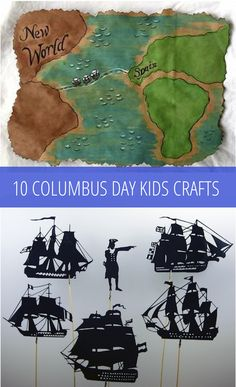 The Arts - Columbus Day Crafts