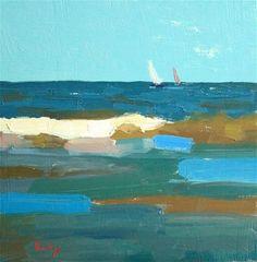 """Out to Sea"" - Original Fine Art for Sale - © Randall Cogburn"