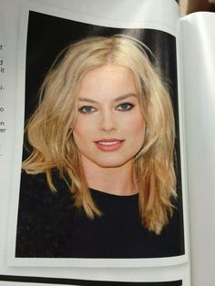 Margot Robbie haircu