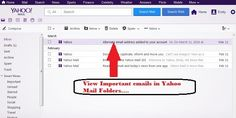 View only important email in your email Folder. Note that viewing only sure types of email is presently not accessible in email service. Yahoo Support Number provides you some measures to view important emails only.