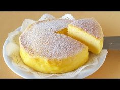 Genius Soufflé Cheesecake Makes Delicious Magic With Only 3 Ingredients. Also known as Japanese Cheesecake Egg Recipes, Sweet Recipes, Dessert Recipes, Cooking Recipes, Grilling Recipes, 3 Ingredient Cheesecake, Cheesecake Recipes, Simple Cheesecake, Cheese