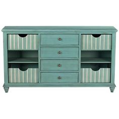 Cullen Cool Teal Console