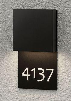 LumenArt provides world class lighting products. Wall Design, Diy Design, Environmental Graphic Design, Environmental Graphics, Signage Board, Hotel Signage, Compound Wall, Sign Board Design, Directional Signs