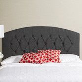 Found it at AllModern - Humble and Haute Hanover Curved Upholstered Headboard