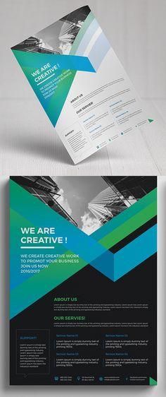 Business Flyer Template #design #flyerdesign #flyertemplates #posterdesign #corporateflyer