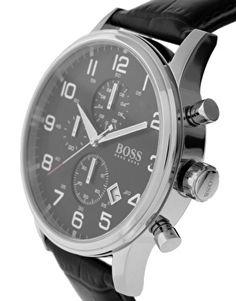 Enlarge BOSS By Hugo Boss Black Dial Strap Watch
