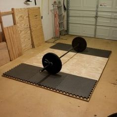 looking to make my own crossfit gym at home