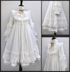 Round 3 Preorder: 【-The Pure Song-】 Lolita OP Dress & Match Accessories, Pretty Outfits, Pretty Dresses, Cute Outfits, Emo Outfits, Kawaii Fashion, Lolita Fashion, Old Fashion Dresses, Fashion Outfits, Fashion Boots