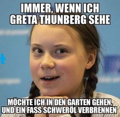 Die 17 Besten Bilder Von Greta Thunberg Witze In 2019