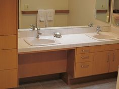 roll under handicap double vanity - Google Search