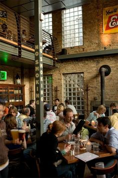 The Hopleaf bar in Chicago, IL features different kinds of beverages: liquors, craft beers, and wine. It is also a great place for anything from meeting friends to lectures or enlightened discussions.