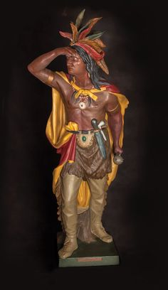Native American Art, American Indians, Cigar Store Indian, Black Indians, Captain Jack, Native Indian, Black People, Cigars, Bible