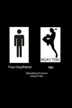 Muay Thai....I approve...
