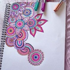 cool designs to draw with colored sharpie - Google Search