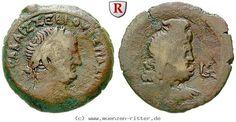 RITTER Ägypten, Alexandria, Vespasianus, Serapis #coins
