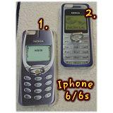 Retro Nokiá-s hátlapvédők TelóGyűrű ® -vel Iphone 6-ra