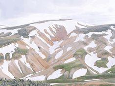 Mountain Landscape, Iceland Landscape, Contemporary Landscape, Magazine Art, Art Direction, Landscape Photography, Art Photography, Milan, Images