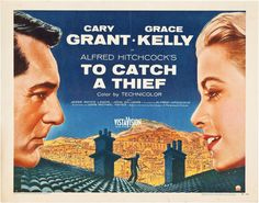 To Catch a ThiefQuality A3 Movie Poster Art Gift Grace Kelly