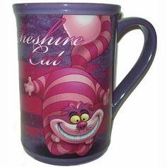 Disney Coffee Cup Mug - Alice In Wonderland - Cheshire Cat