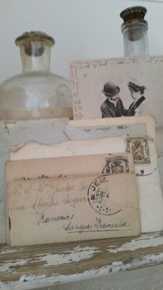 Vintage Romance, Vintage Love, Vintage Books, Vintage Decor, Photographs And Memories, Old Letters, Handwritten Letters, Old Love, Vintage Lettering