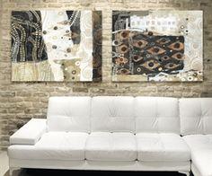 Quadro astratto moderno 70x40 stampa su tela abstratos pinterest