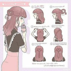 Comment your answer in 3 seconds! DM us for more details 😘 Cute Simple Hairstyles, Pretty Hairstyles, Straight Hairstyles, Kawaii Hairstyles, Diy Hairstyles, Kawaii Hair Tutorial, Hair Threading, Lolita Hair, Long Length Hair