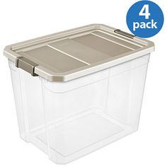 Online 51 88 Sterilite 27 Gallon 108 Quart Stacker Storage Box Set