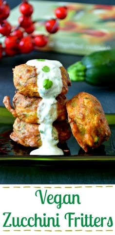 These super easy vegan zucchini fritters have been inspired by Indian flavors. Try this desi spin-off and delight your taste buds!