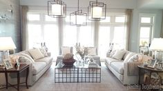 Living Room of the HGTV Dream Home {Reality Daydream}
