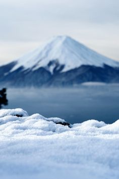 """Mt Fuji, Yamanashi-Ken, Japan - """"Winter' by cwljwc. Now linked to original. Places Around The World, Around The Worlds, Places To Travel, Places To Visit, Monte Fuji, Asia, Win A Trip, Japan Travel, The Great Outdoors"""