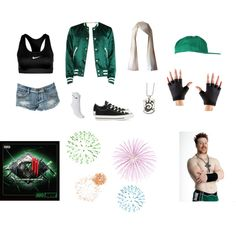 """WWE Style"" by thenat1 on Polyvore"