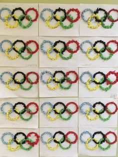 Olympic Idea, Olympic Games, Theme Sport, Olympic Crafts, Winter Activities For Kids, Learning Goals, Hat Crafts, Winter Project, Kindergarten Art