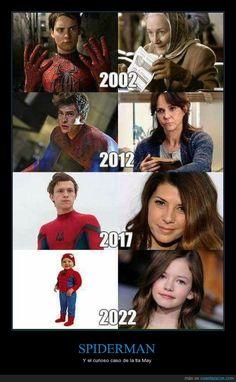 El gracioso FAIL que está ocurriendo con las películas de Spiderman - Y el curioso caso de la tía May   Gracias a http://www.cuantarazon.com/   Si quieres leer la noticia completa visita: http://www.estoy-aburrido.com/el-gracioso-fail-que-esta-ocurriendo-con-las-peliculas-de-spiderman-y-el-curioso-caso-de-la-tia-may/