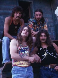 Ozzy Osbourne Black Sabbath, Allman Brothers, Famous Musicians, Van Halen, Aesthetic Vintage, Cool Bands, Hard Rock, Heavy Metal, Step Inside