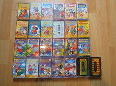 I had an elaborate collection of Benjamin Blümchen story tapes. I wish I could give them to my son.