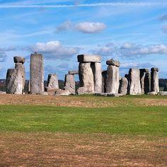 Panoramic shot of #Stonehenge #Landscapes #Landmark - Dollar Stock Images - http://kozzi.tv/U1lYP