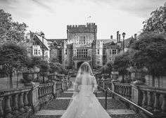 glamorous castle wedding at the Hatley Castle in Victoria, BC, photo by Ophelia Photography   junebugweddings.com